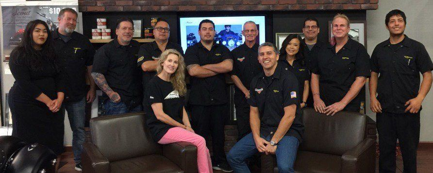 Our team at Spirit Motorcycles San Jose
